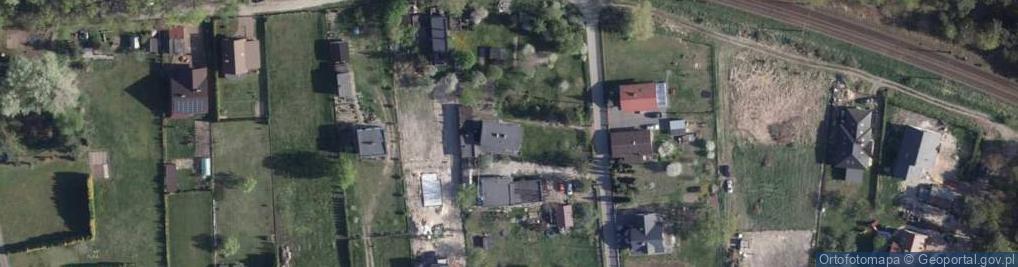 Zdjęcie satelitarne Borowikowa ul.
