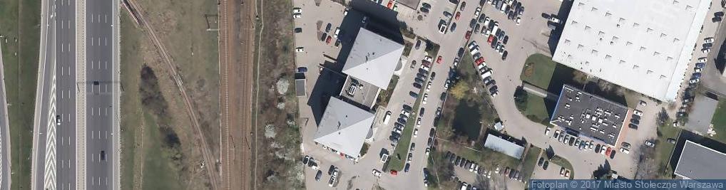 Zdjęcie satelitarne Bokserska ul.