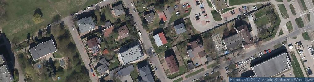 Zdjęcie satelitarne Bolesławicka ul.
