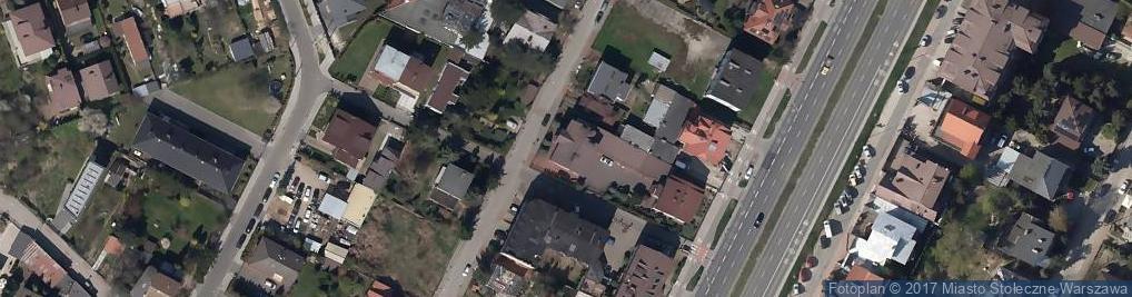 Zdjęcie satelitarne Bogumińska ul.