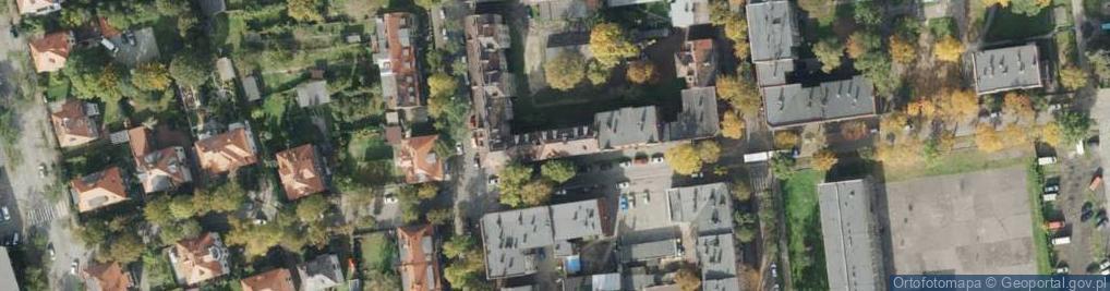Zdjęcie satelitarne Bohaterów Warszawskich ul.