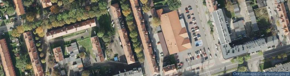 Zdjęcie satelitarne Bolesława Śmiałego ul.