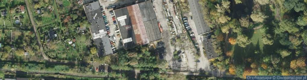 Zdjęcie satelitarne Botaniczna ul.