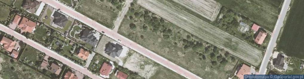Zdjęcie satelitarne Bora-Komorowskiego Tadeusza, gen. ul.
