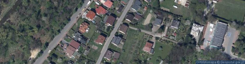 Zdjęcie satelitarne Brzegi ul.