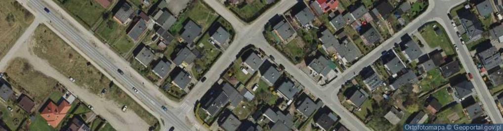 Zdjęcie satelitarne Broniewskiego ul.