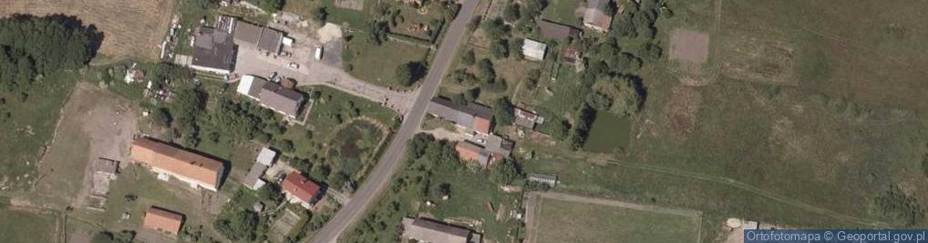 Zdjęcie satelitarne Brunów ul.