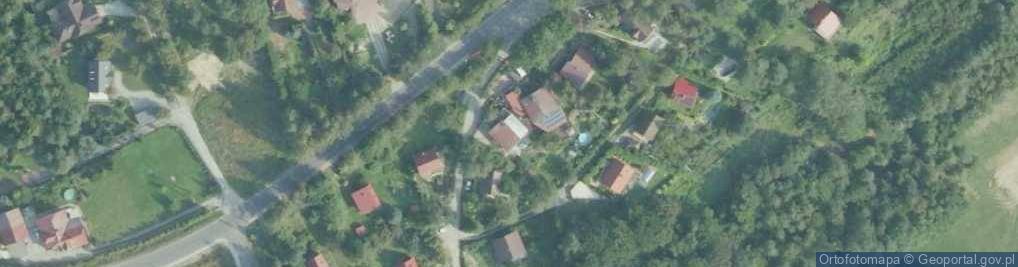 Zdjęcie satelitarne Brzezowa ul.