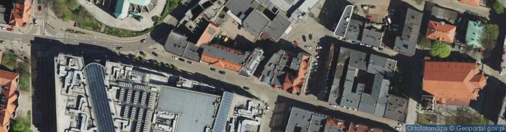 Zdjęcie satelitarne Browarniana ul.