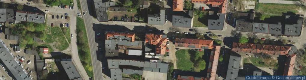 Zdjęcie satelitarne Brzezińska ul.