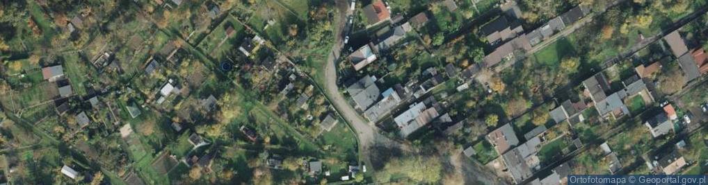 Zdjęcie satelitarne Bratnia ul.