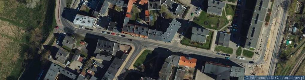 Zdjęcie satelitarne Brzeźna ul.