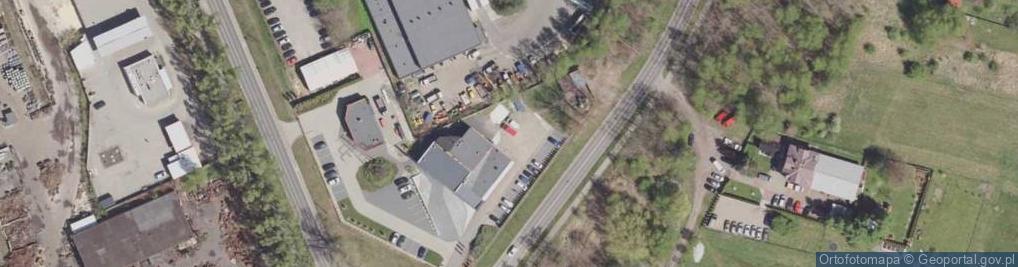 Zdjęcie satelitarne Braci Gutmanów ul.