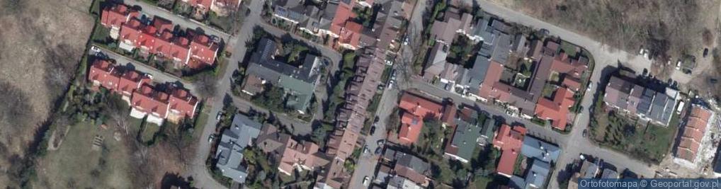 Zdjęcie satelitarne Brukowa ul.