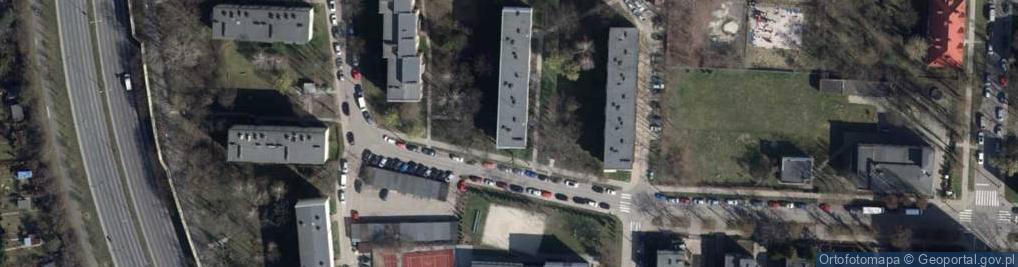Zdjęcie satelitarne Brzozowskiego Stanisława ul.
