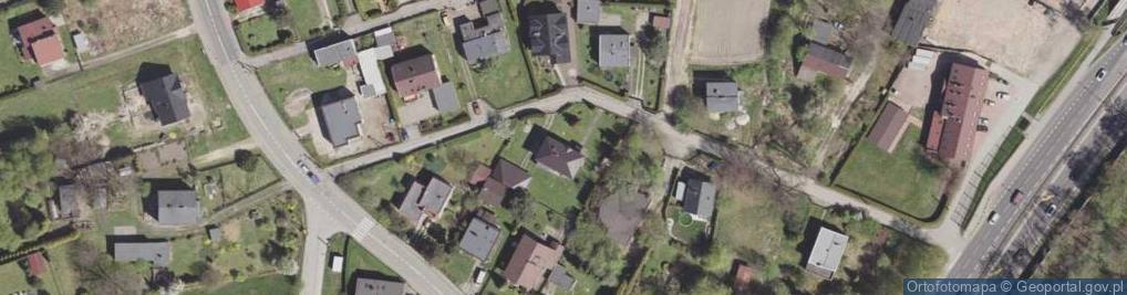 Zdjęcie satelitarne Brzechwy Jana ul.