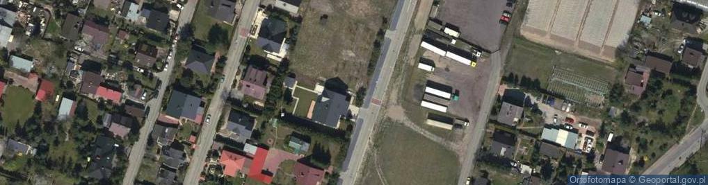 Zdjęcie satelitarne Brzezińskiego Franciszka ul.