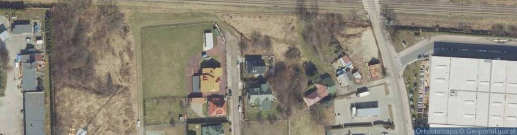 Zdjęcie satelitarne Braci Śniadeckich Jana i Jędrzeja ul.