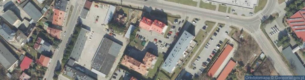 Zdjęcie satelitarne Brudzewskiego Wojciecha ul.