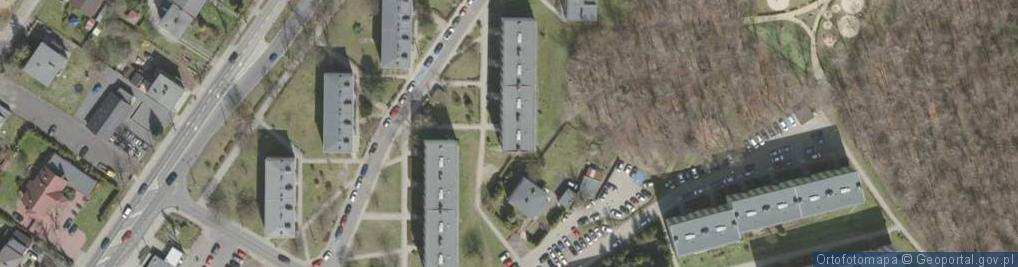 Zdjęcie satelitarne Brodzińskiego Kazimierza ul.