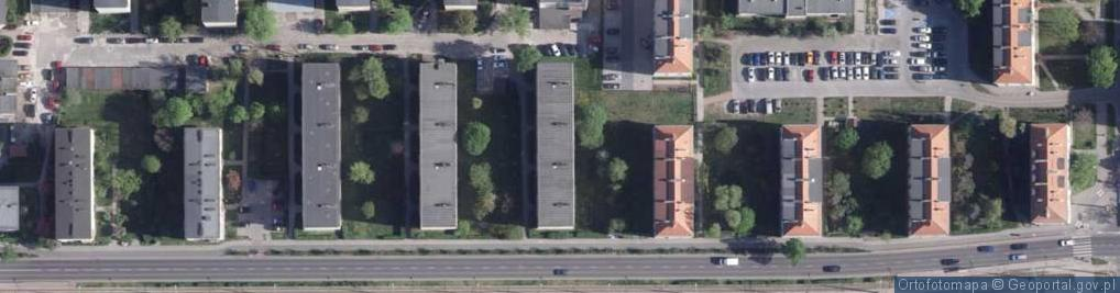 Zdjęcie satelitarne Broniewskiego Władysława ul.