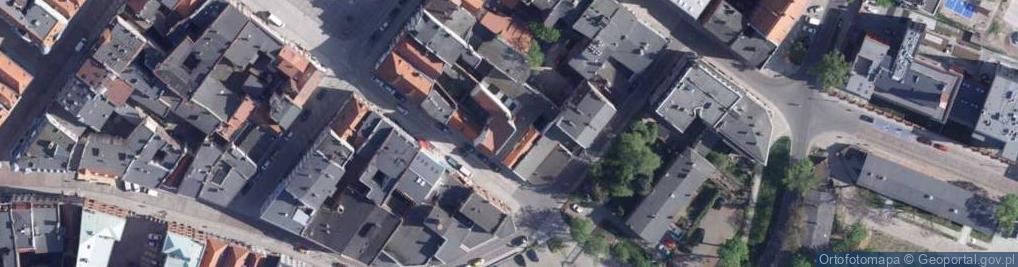 Zdjęcie satelitarne Browarna ul.