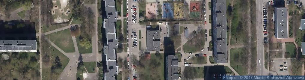 Zdjęcie satelitarne Bryły Stefana ul.