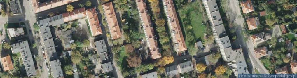 Zdjęcie satelitarne Brzóski Stanisława, ks. ul.