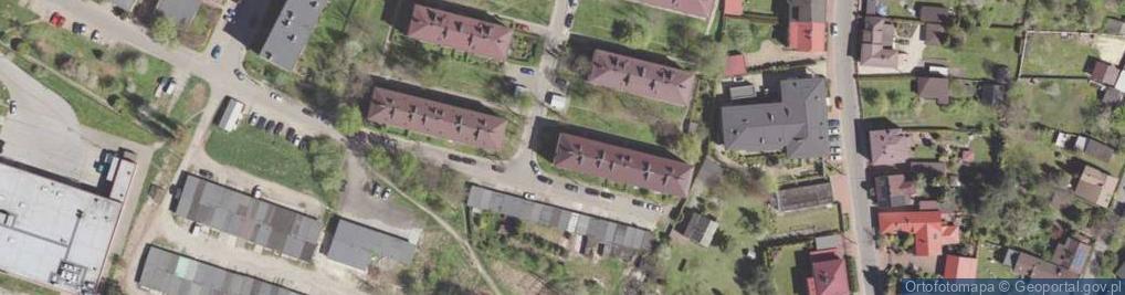 Zdjęcie satelitarne Bulgi Edwarda ul.
