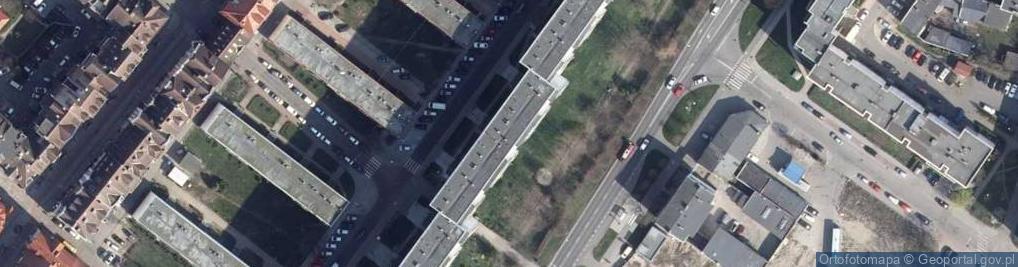 Zdjęcie satelitarne Budowlana ul.