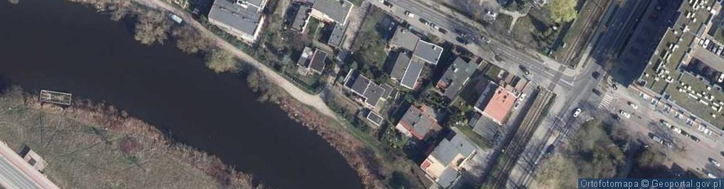 Zdjęcie satelitarne Bulwar Zacisze ul.