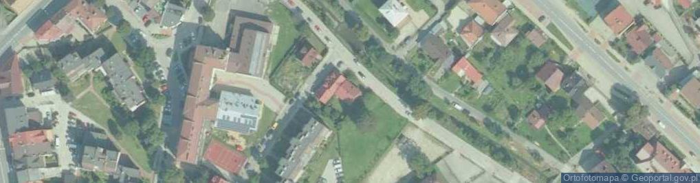 Zdjęcie satelitarne Bulwary ul.