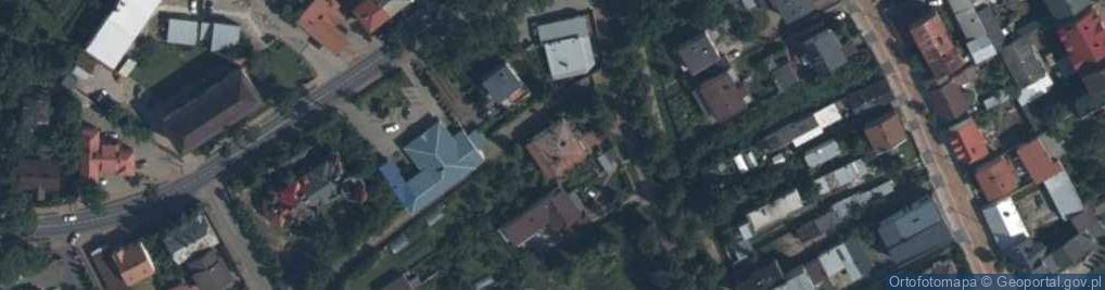 Zdjęcie satelitarne Bulwar ul.