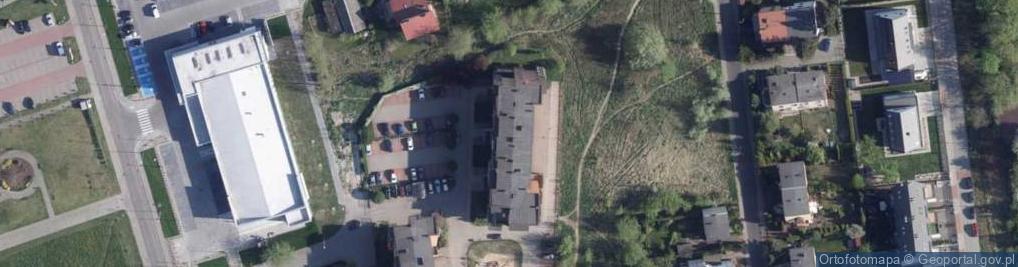 Zdjęcie satelitarne Burhardta Stefana ul.