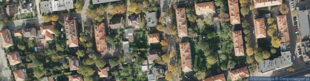 Zdjęcie satelitarne Buchenwaldczyków ul.