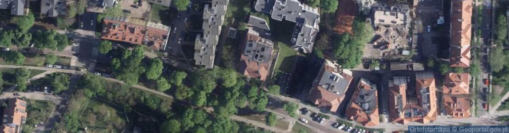Zdjęcie satelitarne Bydgoska ul.
