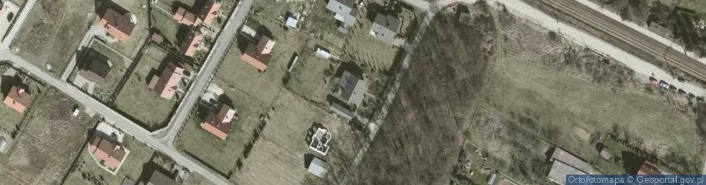 Zdjęcie satelitarne Bzowa ul.