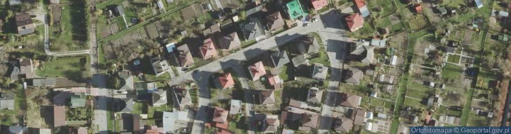 Zdjęcie satelitarne Cementowa ul.