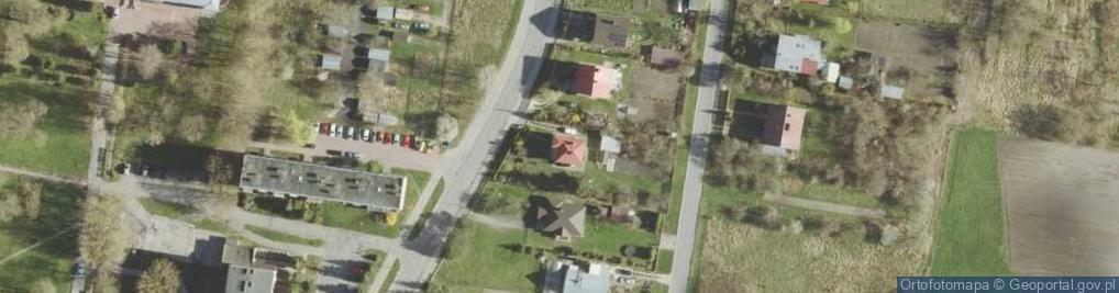 Zdjęcie satelitarne Ceramiczna ul.
