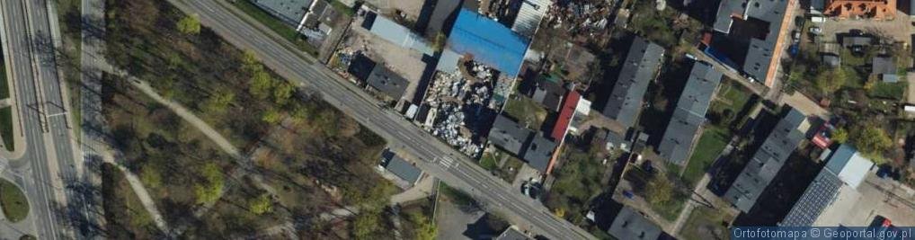 Zdjęcie satelitarne Cegielniana ul.