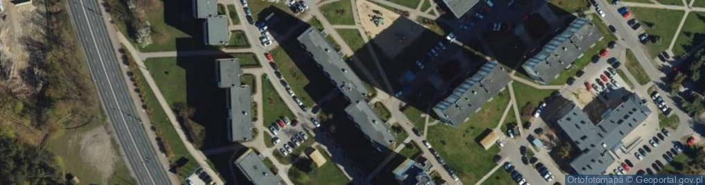Zdjęcie satelitarne Centrum Wyszkolenia Kawalerii ul.