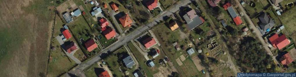 Zdjęcie satelitarne Ceynowy Floriana, dr. ul.