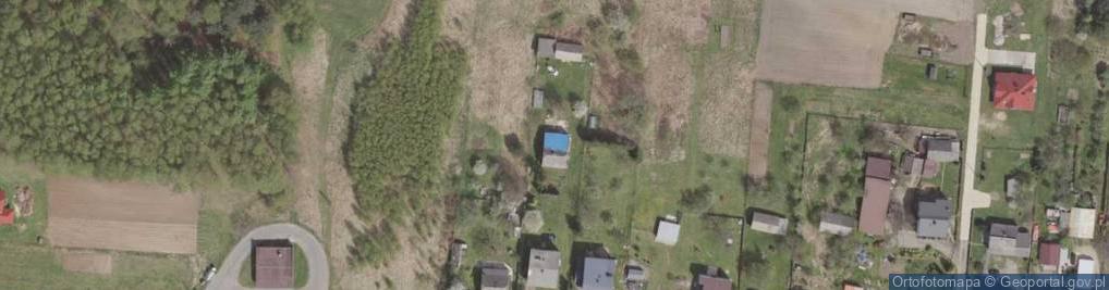 Zdjęcie satelitarne Cezarówka Górna ul.