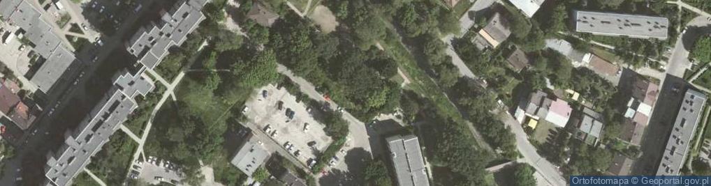 Zdjęcie satelitarne Celarowska ul.