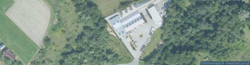Zdjęcie satelitarne Ceglarska ul.