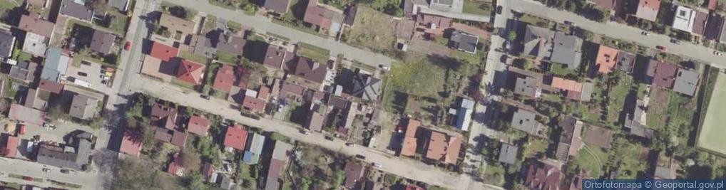Zdjęcie satelitarne Ceglana ul.
