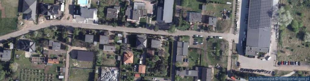 Zdjęcie satelitarne Cedrowa ul.