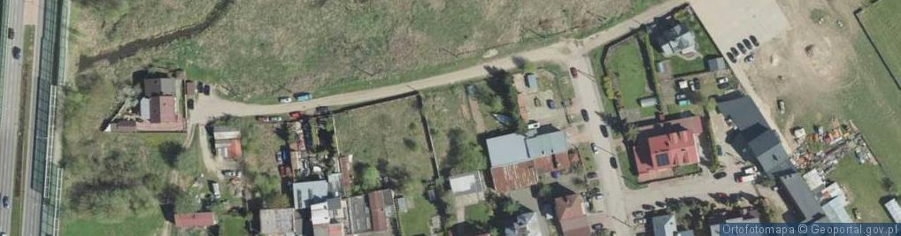 Zdjęcie satelitarne Chętnika Adama ul.
