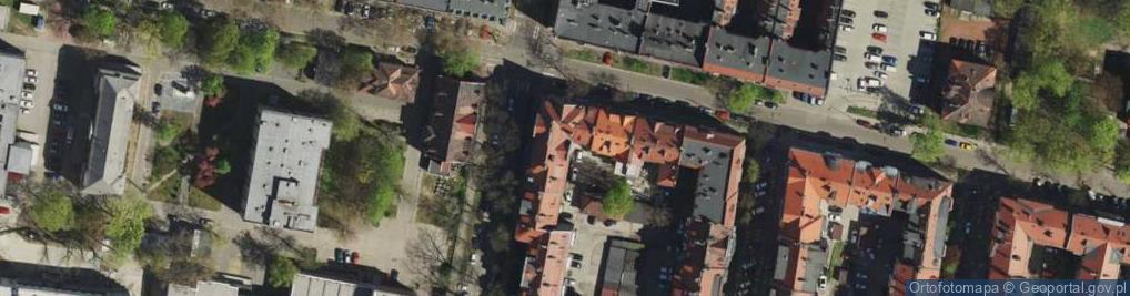 Zdjęcie satelitarne Chrzanowskiego Ignacego ul.