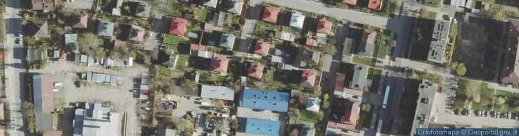 Zdjęcie satelitarne Chomentowskiego Michała ul.